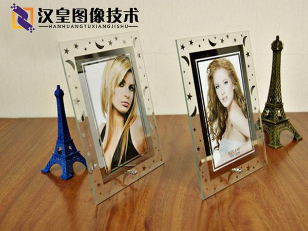 浮雕uv打印机-玻璃相框打印案例