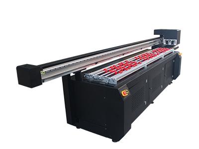 汉皇圆柱体uv平板打印机-口红管眉笔个性